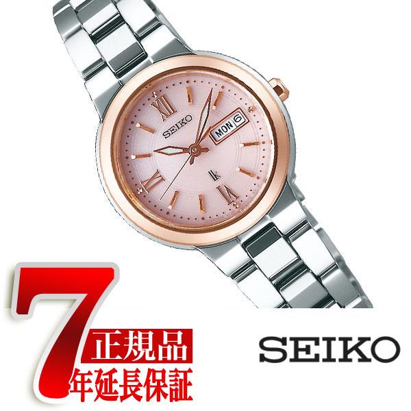 【母の日ギフト】【正規品】セイコー ルキア SEIKO LUKIA ソーラー 腕時計 レディース ピンク ダイアル SSVN030