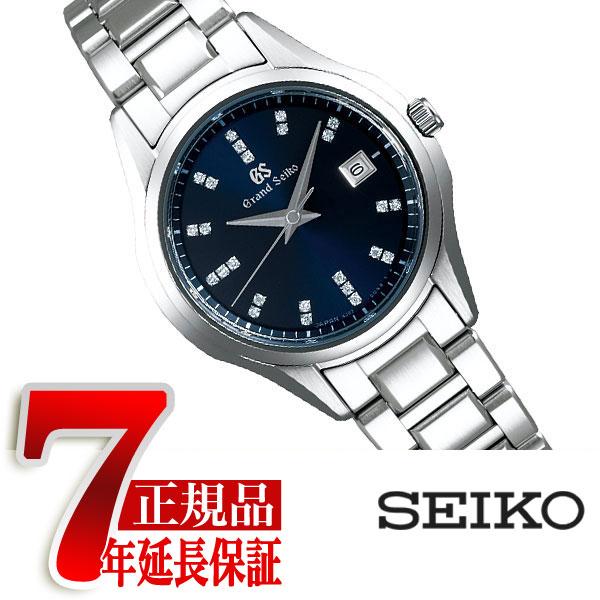 【おまけ付き】【GRAND SEIKO】グランドセイコー 9S クオーツ 腕時計 レディース ネイビー STGF325
