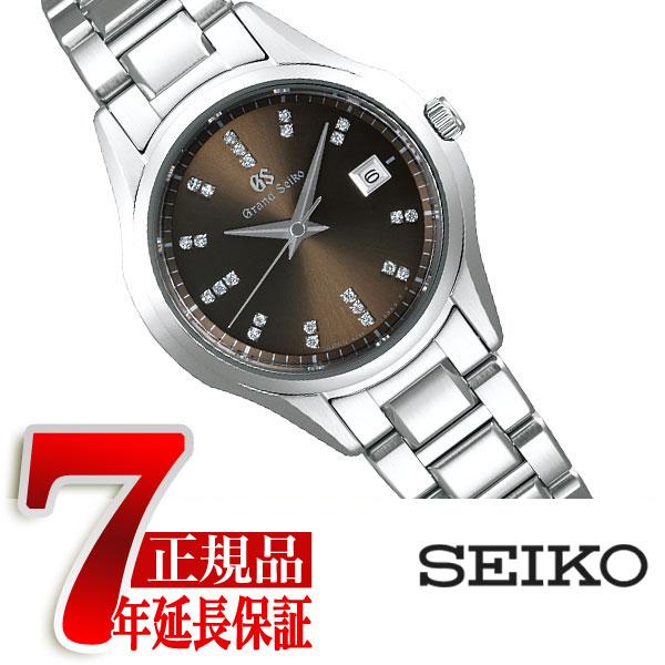 【おまけ付き】【GRAND SEIKO】グランドセイコー 9S クオーツ 腕時計 レディース ブラウン STGF327