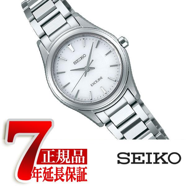【正規品】セイコー ドルチェ&エクセリーヌ SEIKO DOLCE&EXCELINE セイコー エクセリーヌ SEIKO EXCELINE ソーラー 腕時計 ペアウォッチ レディース ホワイト SWCQ091