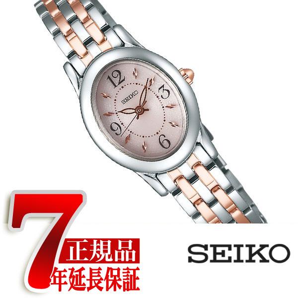 【SEIKO SELECTION】セイコー セレクション ソーラー 腕時計 レディース ピンク SWFA171