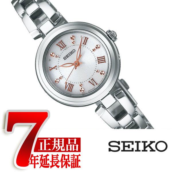 【正規品】セイコー セレクション SEIKO SELECTION レディースモデル 電波 ソーラー 電波時計 腕時計 レディース シルバー ダイアル SWFH089