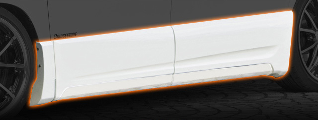 TOYOTA VELLFIRE ヴェルファイア (GGH20W 25W) サイドパネル 送料無料 A0424