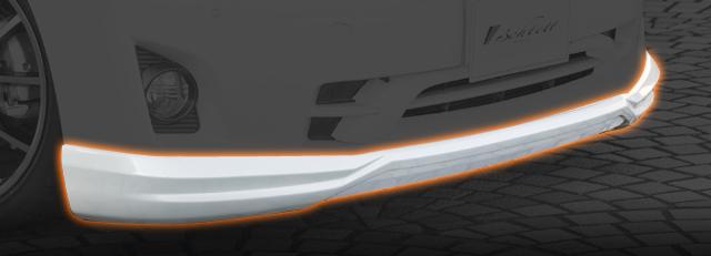 TOYOTA VELLFIRE ヴェルファイア (GGH20W 25W) V X用フロントハーフスポイラー 送料無料 A0543