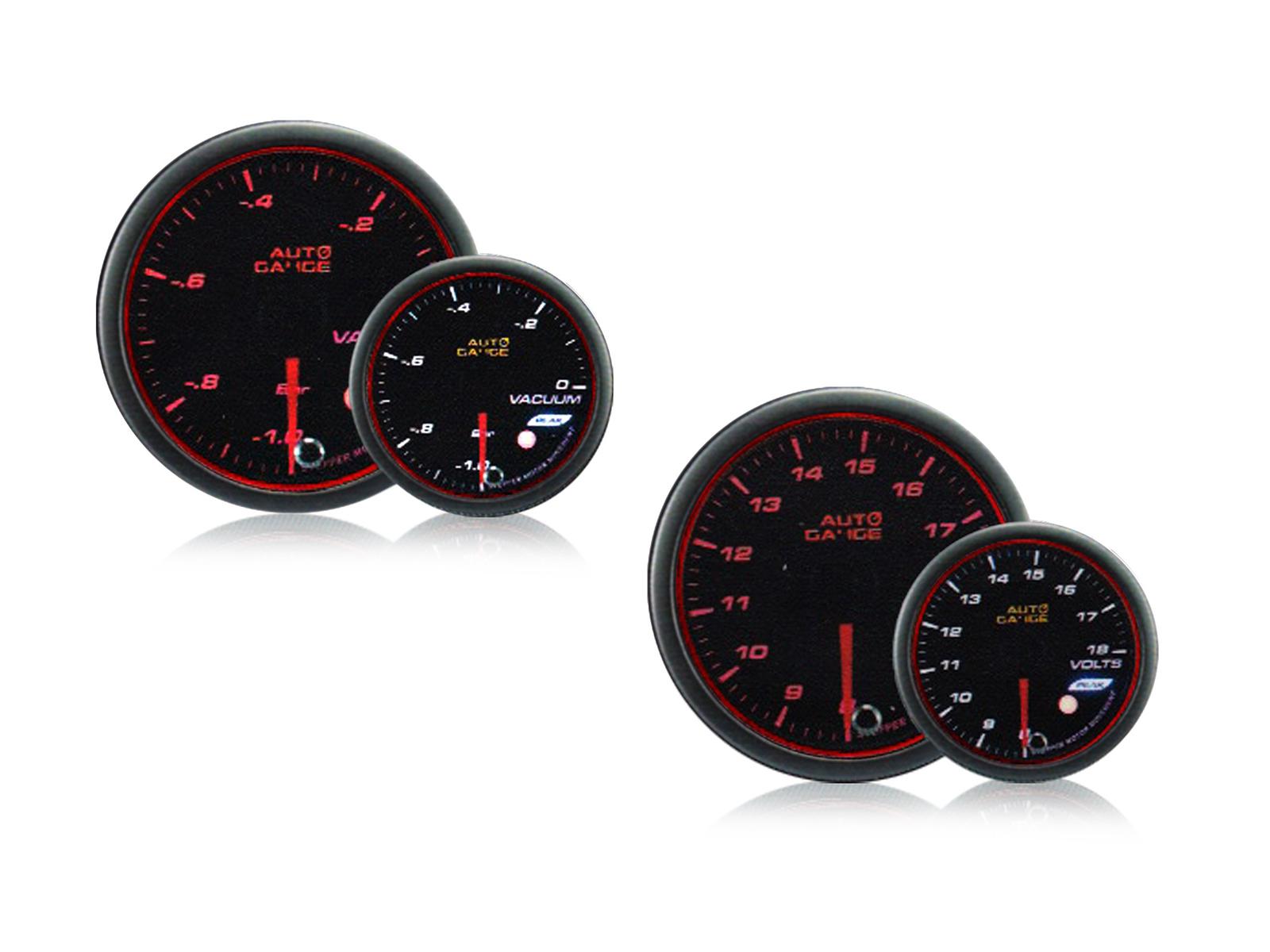 オートゲージ バキューム計 電圧計 2点セット S660 S2000 シビック タイプR スイフトスポーツ ロードスター BR-Z 86 コペン 無料サンプルOK CR-Z 548 スモークレンズ MINI 548VA60 548VO60 フェアレディ 2連メーター D NA車 当店は最高な サービスを提供します Z 60mm ピークホールド機能付 送料無料 60Φ