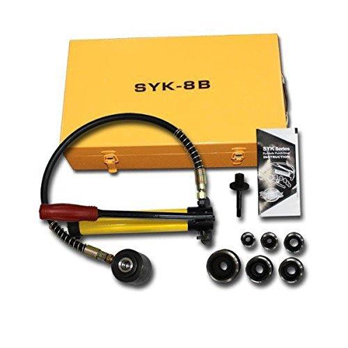 手動油圧式パンチャー 専用ケース付 能力10T B B【小型】 送料無料 A27B