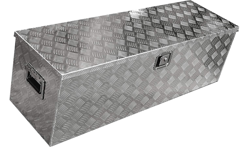 軽トラ荷台ボックス 軽トラック用 アルミボックス 工具箱 ツールボックス 1230×385×385mm 鍵付き 大型 アルミ工具箱 BOX 送料無料 A35B