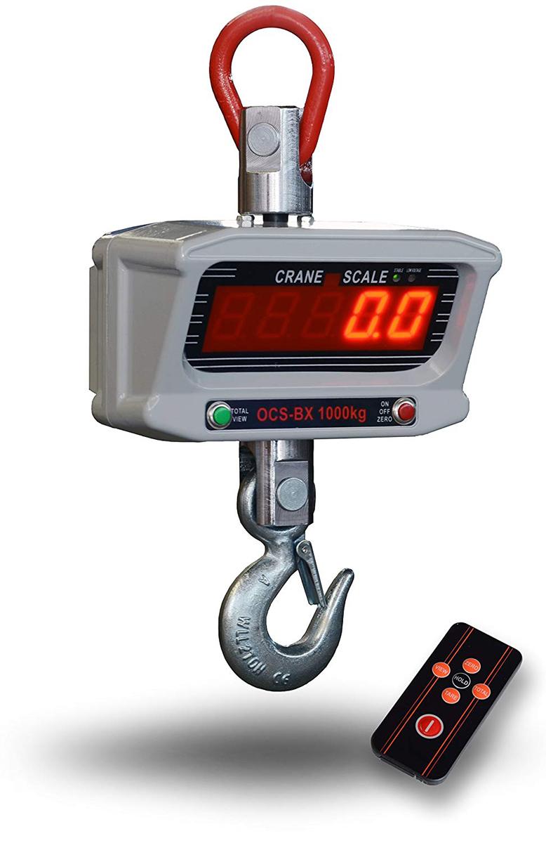 デジタルクレーンスケール 吊秤 1トン[充電式 スケール 秤 クレーン 吊秤 デジタル吊りはかり 吊り秤 デジタル クレーン スケール 計量 計測 吊り下げ 大型 はかり] 送料無料 A44A