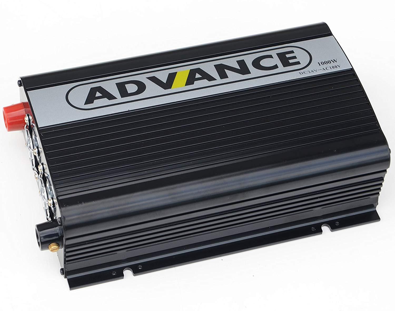 24V定格 1000W 瞬間2000W 50 60Hz切替 高出力 DC AC インバーター DCからAC100Vへ変換 防災グッズ キャンピングカー 発電機 送料無料 C03B