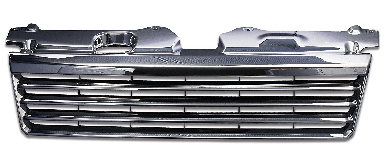 フロントグリル ステップワゴン stepwagon honda RF3 RF4 前期 (H13.4~H15.5) ホンダ フィングリル メッシュグリル 交換 パーツ メッキグリル グリル ダクトグリル 送料無料 SDF002