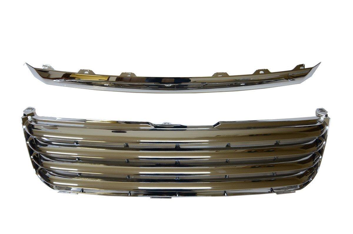 【5台限定 ポイント10倍】フロントグリル ノア NOAH AZR60 AZR65前期 トヨタ フィングリル メッシュグリル 交換 パーツ メッキグリル グリル ダクトグリル 送料無料 SDF010