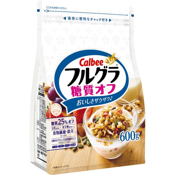 カラダにうれしい糖質25%オフ! カルビー フルグラ糖質オフ 6袋入り(1ケース)(SB)