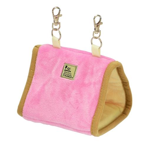 三晃商会 再販ご予約限定送料無料 サンコー ピンク 小鳥の三角ベッド 一部予約