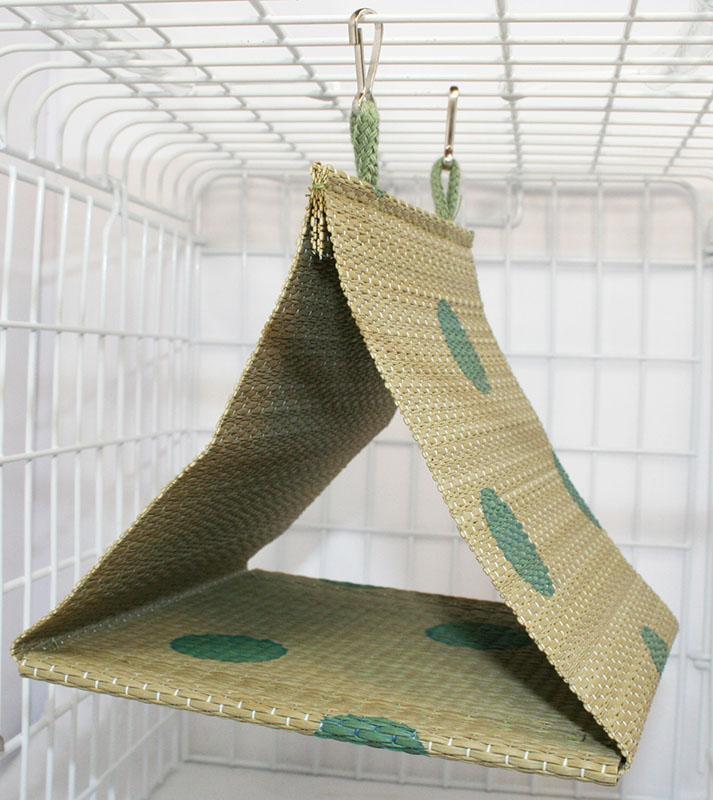 ピーツー アンド アソシエイツ 18%OFF Bird Tent ハッピーホリデイ 商店 グリーン L い草テント