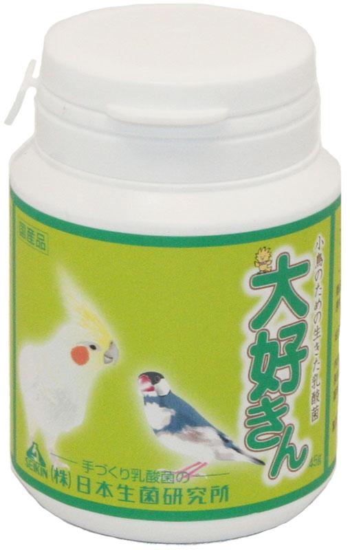 日本生菌研究所 アリメペット・ミニ 大好きん小鳥用 45g (鳥、乳酸菌)
