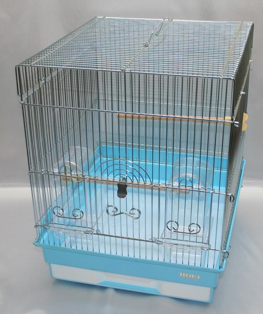 HOEI 35角G ブルー底(鳥かご、ケージ)