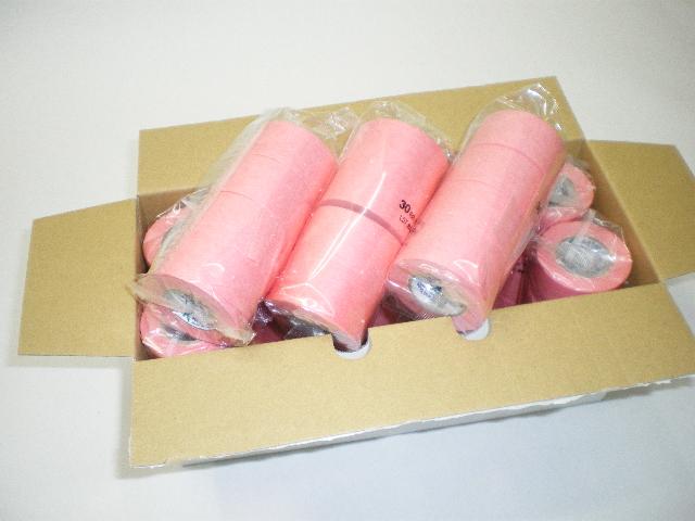 ニュースクリーンテープ/ピンク色(マスキングテープ・紙粘着テープ)