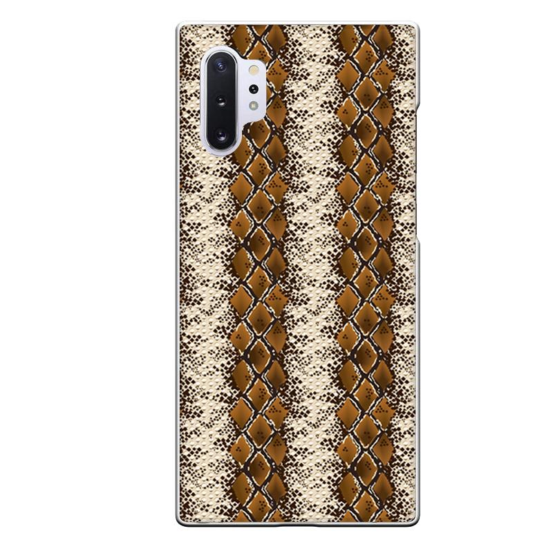 Galaxy Note10+専用定形外発送 送料無料 Note10+専用 爬虫類好きさんにオススメ ポールパイソン 蛇 皮風 まとめ買い特価 メンズ SC-01M おしゃれ 茶色 パイソン柄 SCV45 クール 買い取り
