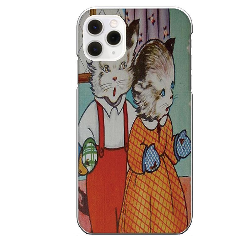 iPhone 11 Pro専用定形外発送 送料無料 Pro専用 キャラクター 二足歩行 ネコ スーパーセール アンティーク調 送料0円 猫