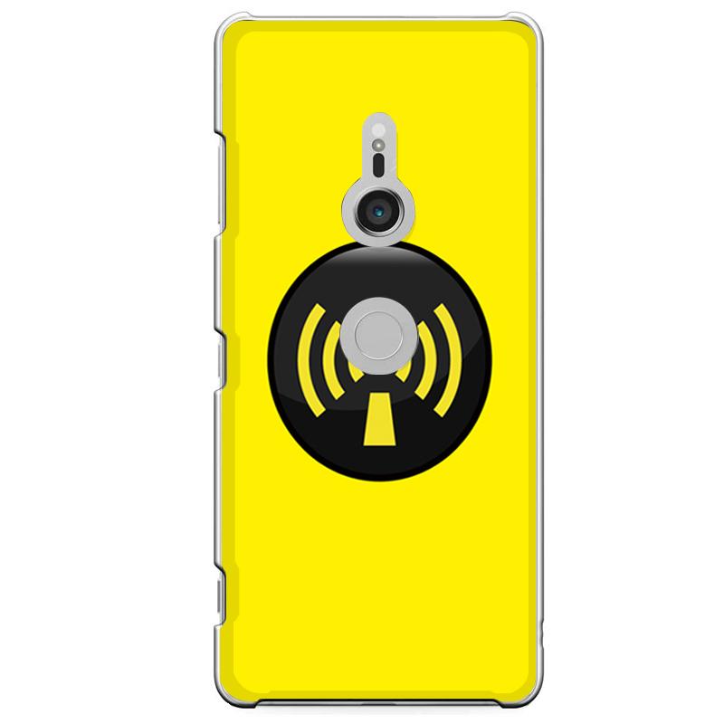 Xperia XZ3専用定形外発送 送料無料 XZ3専用 電波 黄色 マーク 激安 お買い得 キ゛フト アイコン アミューズ [再販ご予約限定送料無料] 801SO SOV39 イエロー SO-01L