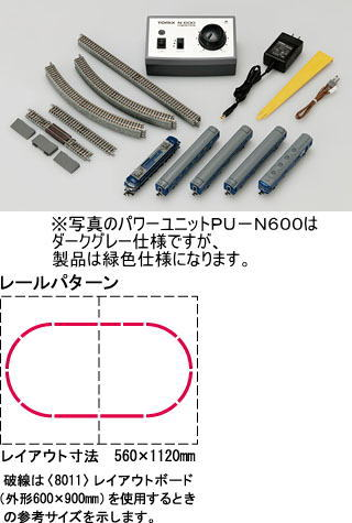 【送料無料】 鉄道模型 TOMIX(トミックス) Nゲージ ベーシックセットSD ブルートレイン