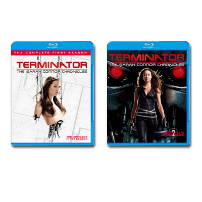 【送料無料】 Blu-ray ターミネーター:サラ・コナー クロニクルズ <ファースト&セカンド・シーズン> コンプリート・2タイトルセット