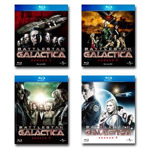 【送料無料】 GALACTICA/ギャラクティカ シリーズ全巻(1~4) ブルーレイBOX セット