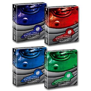 【送料無料】 スター・トレック エンタープライズ シーズン1~4 <トク選BOX> [DVD] セット