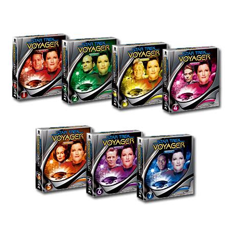 【送料無料】 スター・トレック ヴォイジャー シーズン1~7 <トク選BOX> [DVD] セット