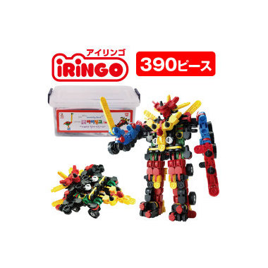 【送料無料】 ポイント10倍 感覚ブロック アイリンゴ [iRiNGO] 390 ピース