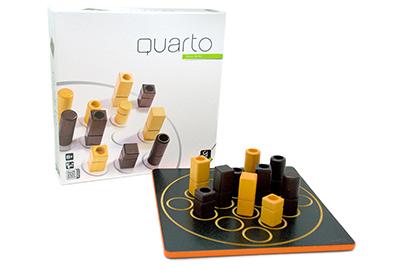 【送料無料】 Gigamic<ギガミック社> クアルト!-QUARTO!-(木製ボードゲーム)