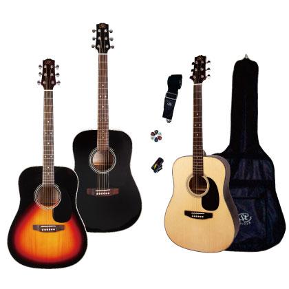 【送料無料】 SX アコースティックギター・セット SA1-SK