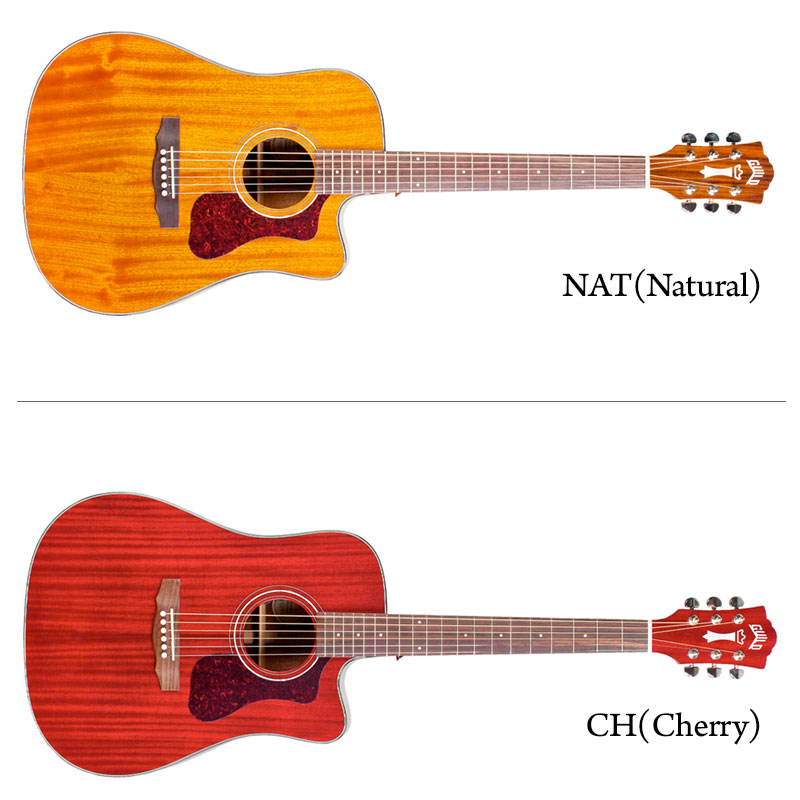 【送料無料】 Guild アコースティックギター (エレアコ) D-120 CE NAT/CHR