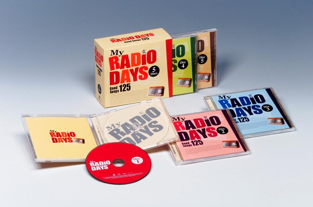 【送料無料】 MY RADIO DAYS CD5枚組 全125曲 歌詞・解説付き