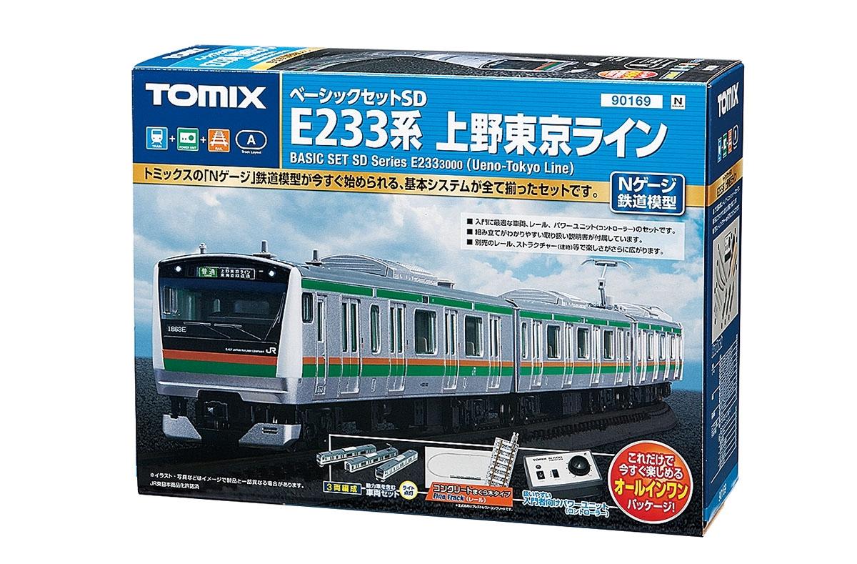 贈り物 【送料無料】 鉄道模型 TOMIX(トミックス) Nゲージ ベーシックセットSD E233系上野東京ライン, 中古ラケットワールド 862e0dbc