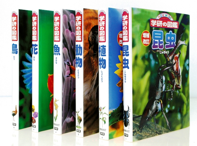 【送料無料】 ニューワイド学研の図鑑 新Aセット(全6巻)