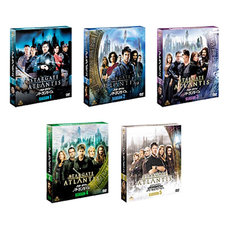 【送料無料】 スターゲイト:アトランティス 全巻オールシーズン(1~5) <SEASONSコンパクト・ボックス> DVDセット