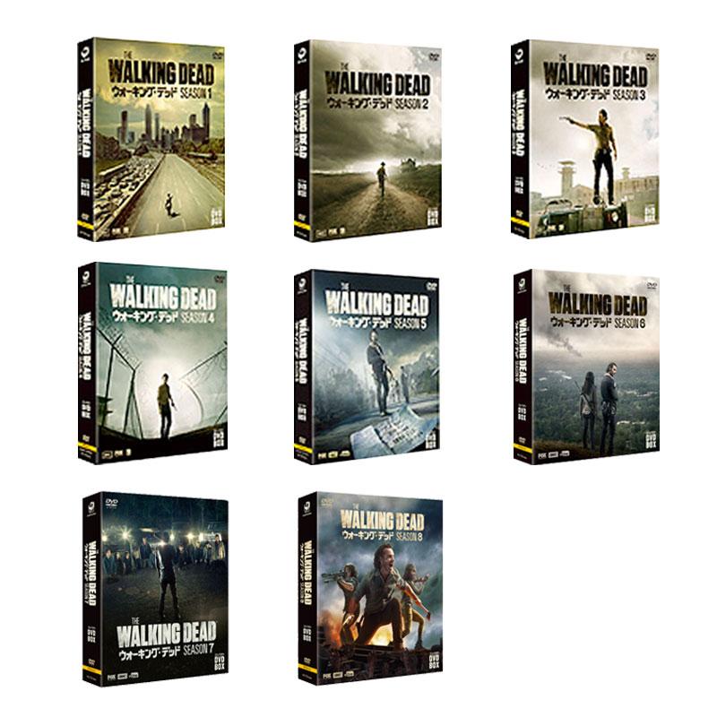 【送料無料】 ウォーキング・デッド コンパクト DVD-BOX シーズン 1-8 セット