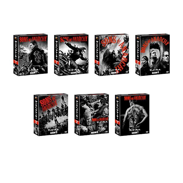 【送料無料】サンズ・オブ・アナーキー オール・シーズン (全巻) <SEASONSコンパクト・ボックス> DVDセット