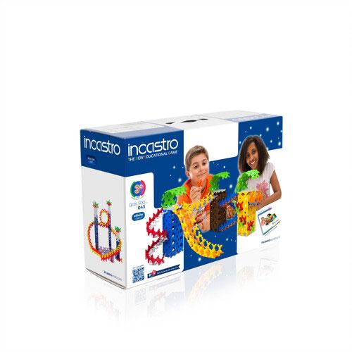 送料無料 《週末限定タイムセール》 イタリア生まれの知育ブロック Incastro インカストロ BOX500 500ピース入り 一部地域を除く