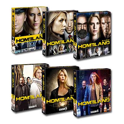 【送料無料】 あす楽対応 HOMELAND/ホームランド シーズン1-6 <SEASONSコンパクト・ボックス> セット
