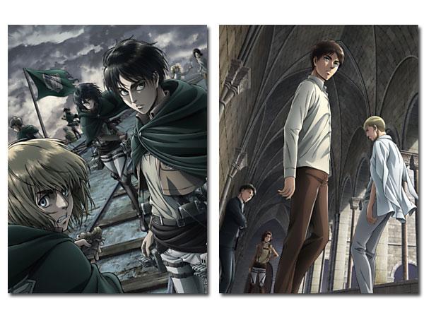 【送料無料】 TVアニメ「進撃の巨人」Season 2 Vol.1&2 Blu-rayセット