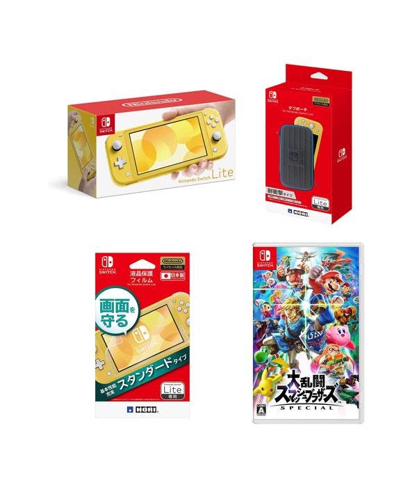 【送料無料】 任天堂 Nintendo Switch™ Lite セット (大乱闘スマッシュブラザーズ SPECIAL同梱)