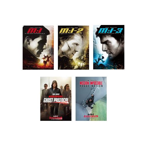 送料無料 ミッション:インポッシブル 店内全品対象 5 OUTLET SALE DVDセット ムービー コレクション