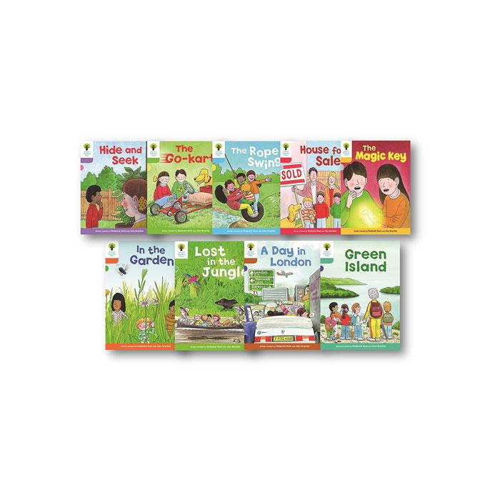 送料無料 マート オックスフォード大学出版局 Oxford Reading Tree Tadoku Pack all 9 Stage packs 30 to 至高 from 1+