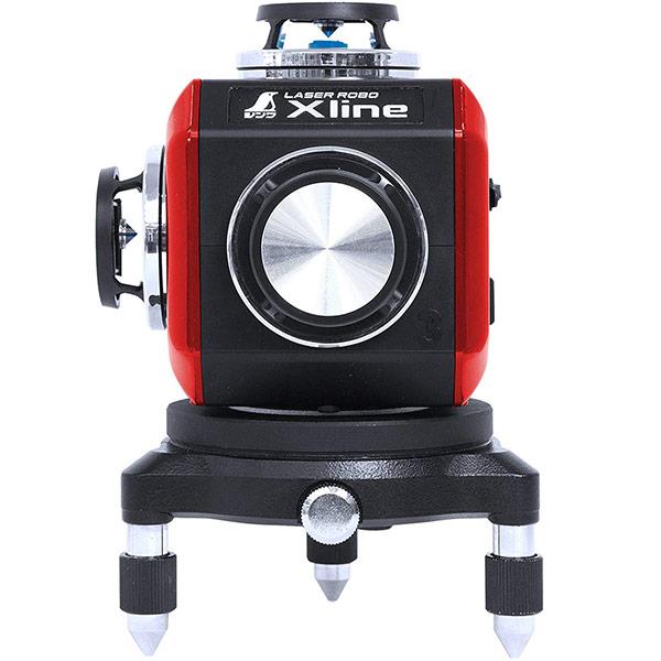【即日出荷】シンワ測定 レーザー墨出し器 レーザーロボ X line レッド 71607