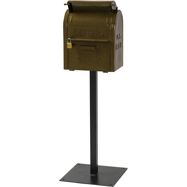 【直送】【代引・日時指定不可】丸三タカギ U.S.メールボックス グリーン SCP1-GR【沖縄・離島配送不可】