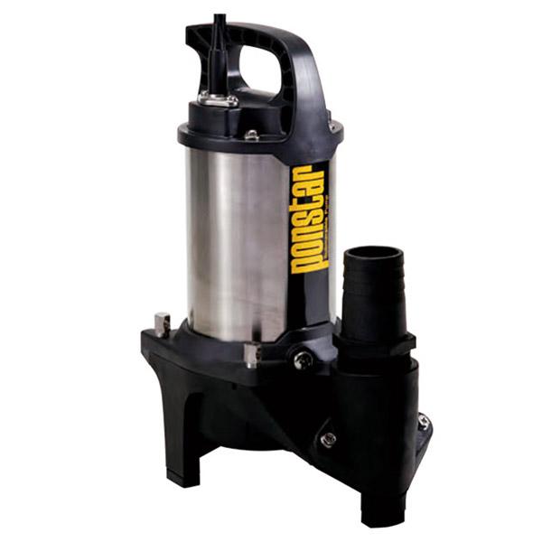 工進 水中ポンプ ポンスター 汚物用 PZ-650 西日本専用:60Hz 汚水・雨水対応