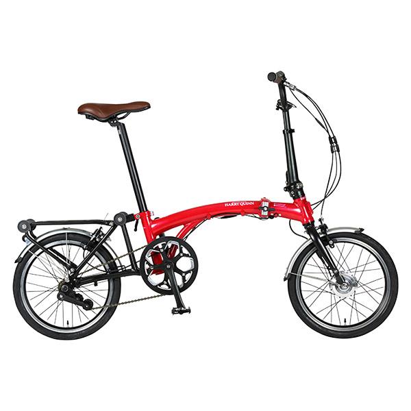 ジック HARRY QUINN ハリークイン 16型 ポータブル Eバイク レッド 折畳み電動アシスト自転車 88210-0299【沖縄・離島配送不可】
