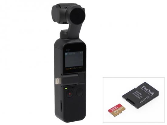 DJI OSMO POCKET + micro SDカード[64GB]
